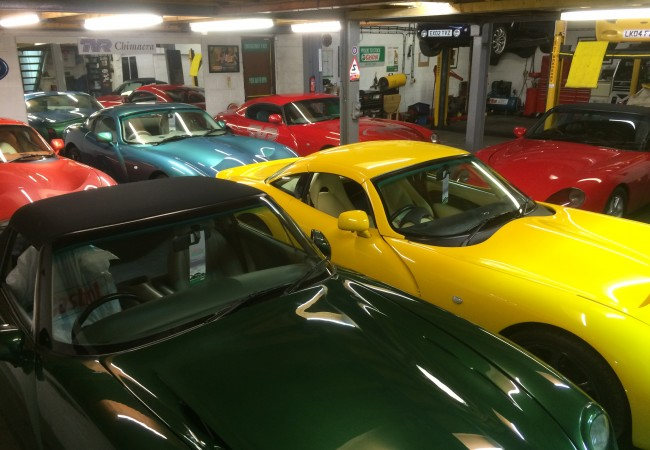 James Agger Autosport TVR Workshop
