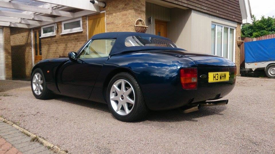tvr griffith sports exhaust system james agger autosport. Black Bedroom Furniture Sets. Home Design Ideas