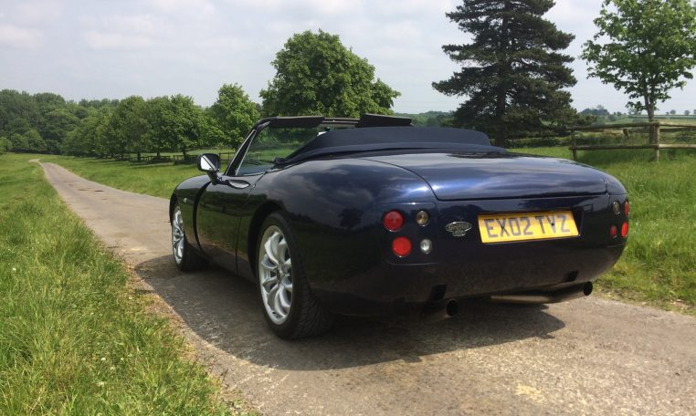 2002 02 tvr griffith limited edition james agger autosport. Black Bedroom Furniture Sets. Home Design Ideas