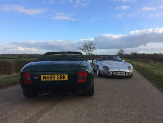 tvr griffith high speed tweed vs high power hot pants james agger autosport. Black Bedroom Furniture Sets. Home Design Ideas